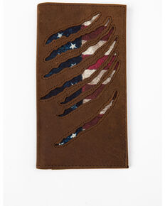 Cody James Men's Americana Wallet, Brown, hi-res