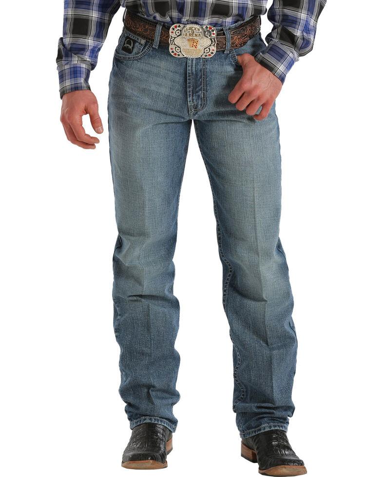 Cinch ® Black Label Medium Wash Jeans - Big & Tall, Med Stone, hi-res