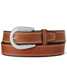 Leegin Men's Brown Dustin Work Belt, Brown, hi-res