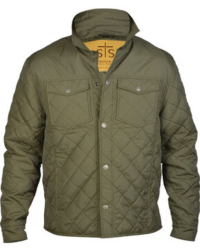 STS Ranchwear Men's Cassidy Jacket, Green, hi-res