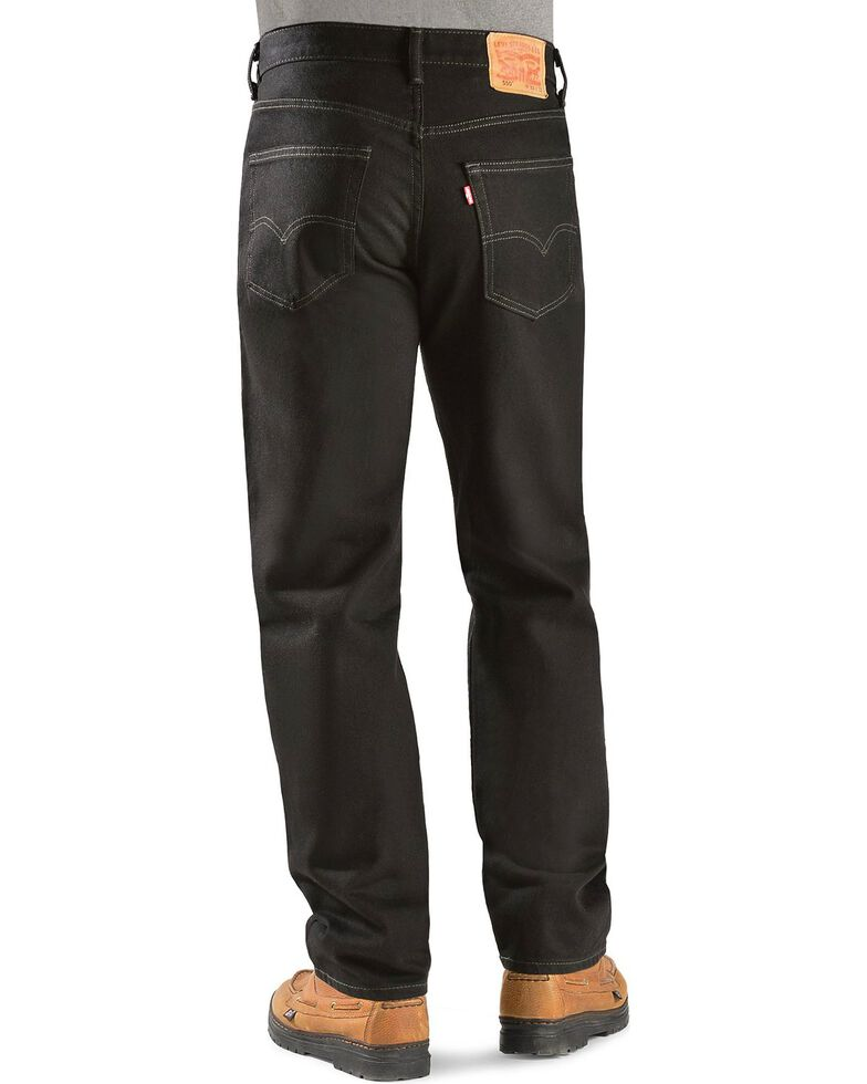 Levi's 550 Jeans - Prewashed Relaxed Fit, Black Out, hi-res