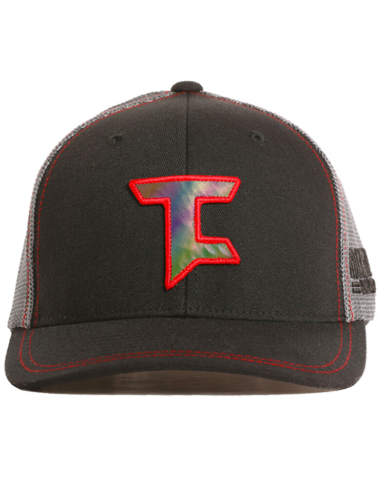 Tuf Cooper Men's Reflective Trucker Hat, Black, hi-res