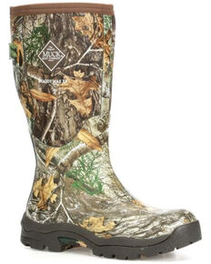 Muck Boots Women's Woody Rubber Boots - Round Toe, Bark, hi-res