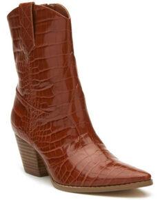 Matisse Women's Bambi Fashion Booties - Pointed Toe, Cognac, hi-res