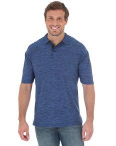 Wrangler 20X Men's Advanced Comfort Performance Short Sleeve Polo Shirt , Black, hi-res
