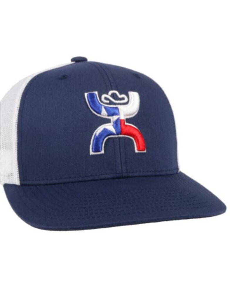 HOOey Men's Black Texican Logo Mesh Ball Cap , , hi-res