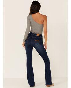 Ranch Dress'n Women's Howdy Medium Wash Bootcut Jeans , Blue, hi-res