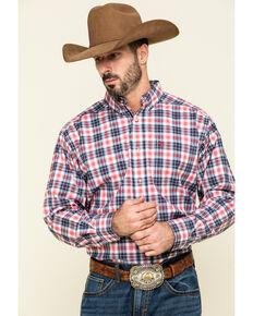 Ariat Men's Shannon Multi Plaid Long Sleeve Western Shirt , Multi, hi-res