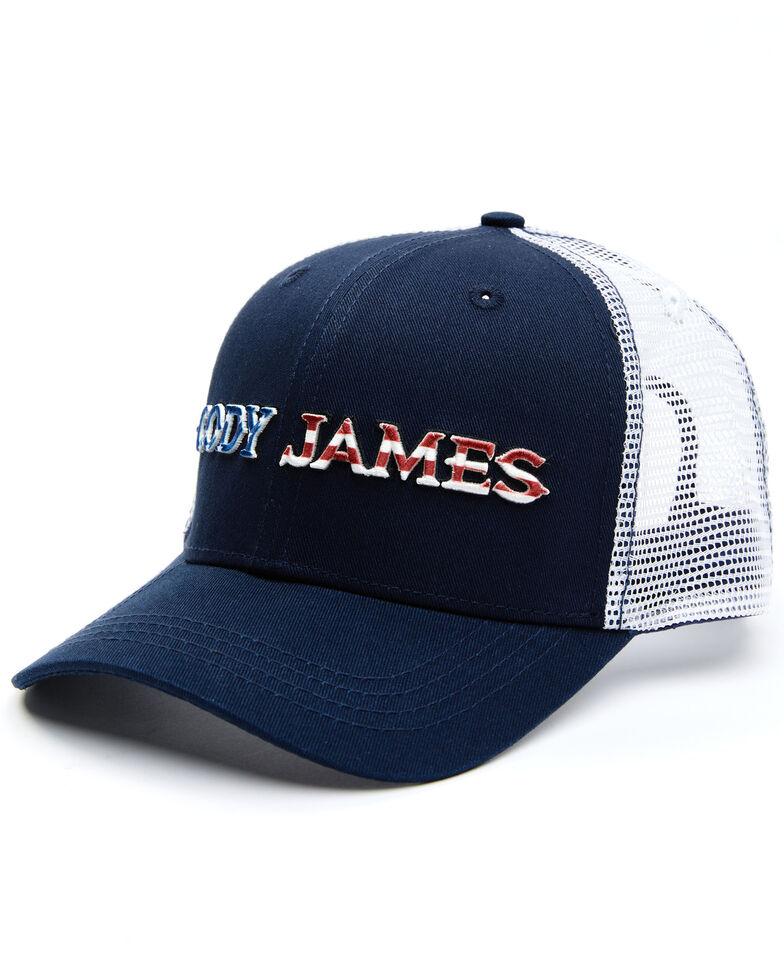 Cody James Men's Stars & Stripes Logo Mesh-Back Ball Cap , Navy, hi-res