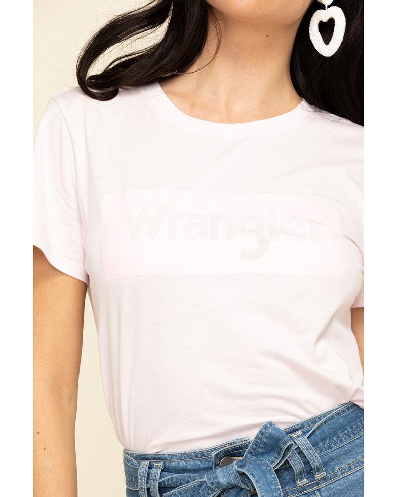 Wrangler Modern Women's Pink Logo Tee, Pink, hi-res