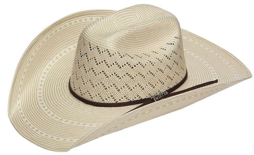 Twister 10X Shantung Straw Cowboy Hat - Country Outfitter 95a955c6cd8