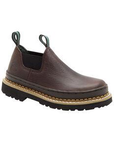 Georgia Boys' Little Giant Romeo Casual Shoes, Brown, hi-res