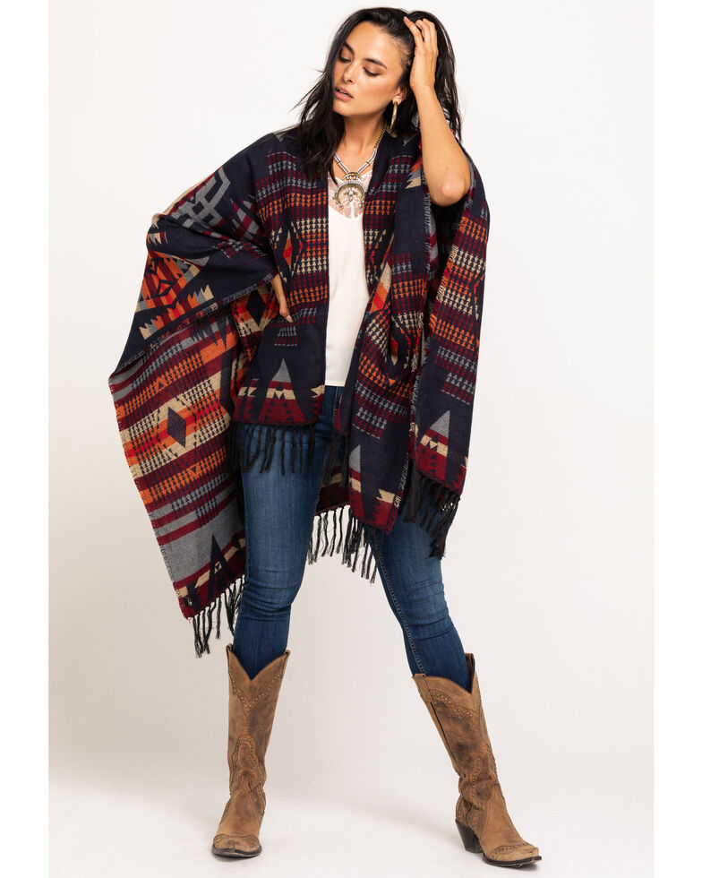 Idyllwind Women's With A Punch Aztec Scarf, Multi, hi-res