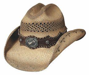 33d69484521 Bullhide Ride  Em Panama Straw Cowboy Hat