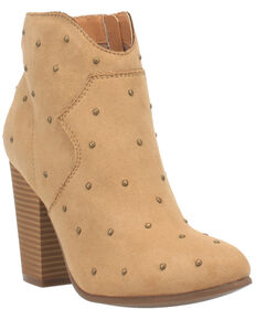 Code West Women's Big Mood Fashion Booties - Round Toe, Natural, hi-res