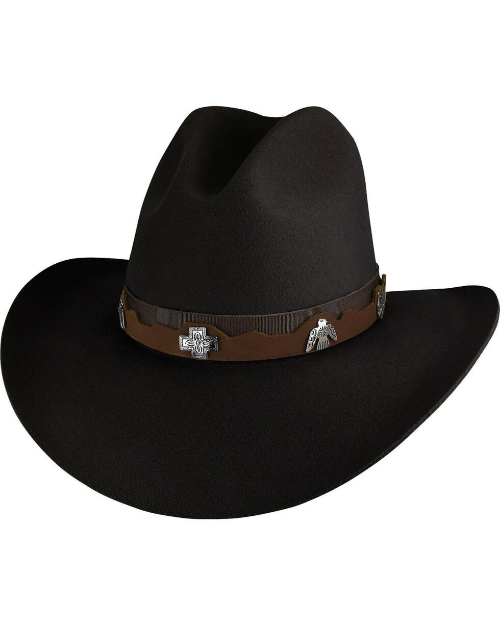 Bailey Men's Black Hobson 2X Western Hat , Black, hi-res