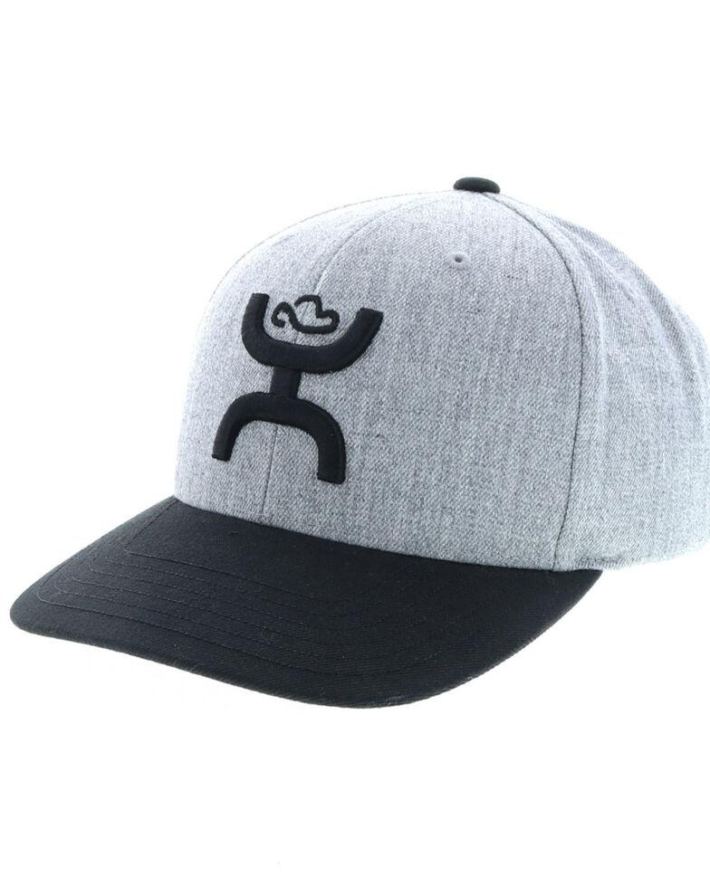 HOOey Men's TBD Baseball Cap, Grey, hi-res