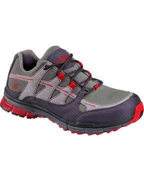 Nautilus Men's ESD No Exposed Metal Athletic Work Shoes - Steel Toe, Grey, hi-res