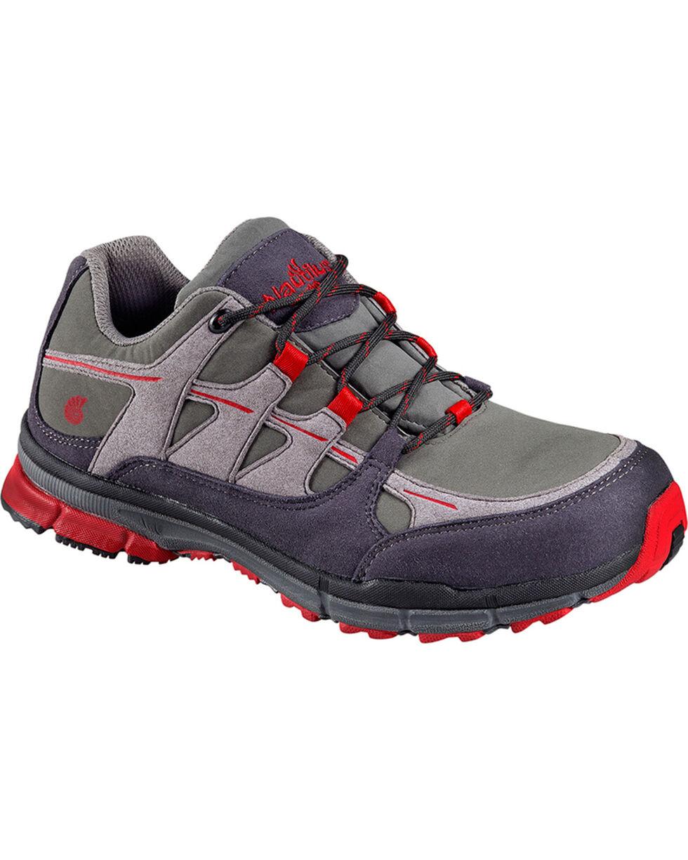 Nautilus Men's ESD No Exposed Metal Athletic Work Shoes - Steel Toe, Grey, hi-res