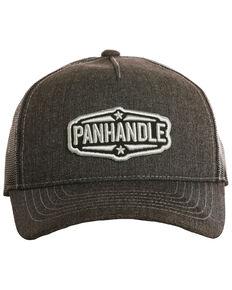 Panhandle Men's Star Patch Cap, Charcoal, hi-res