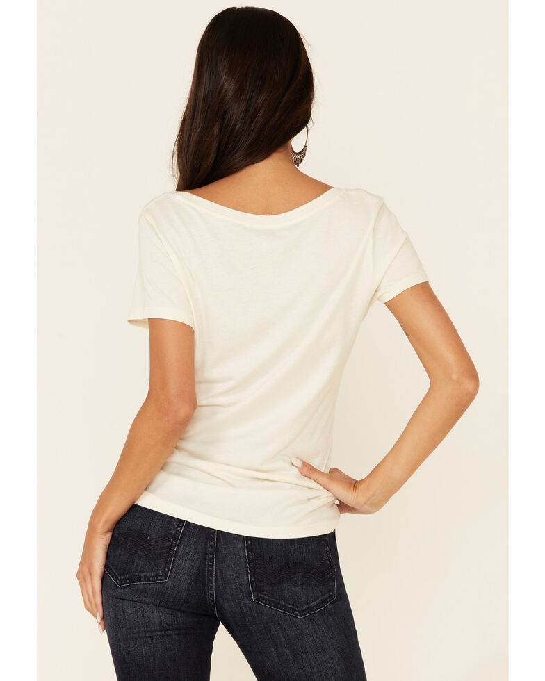Idyllwind Women's Mama Tried Graphic Short Sleeve Trustee Tee , Off White, hi-res
