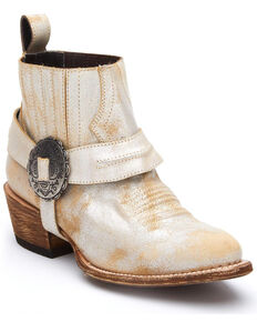 Matisse Women's Judd Fashion Booties - Round Toe, Gold, hi-res