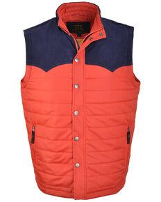 STS Ranchwear Men's Red Lightweight River Vest , Red, hi-res