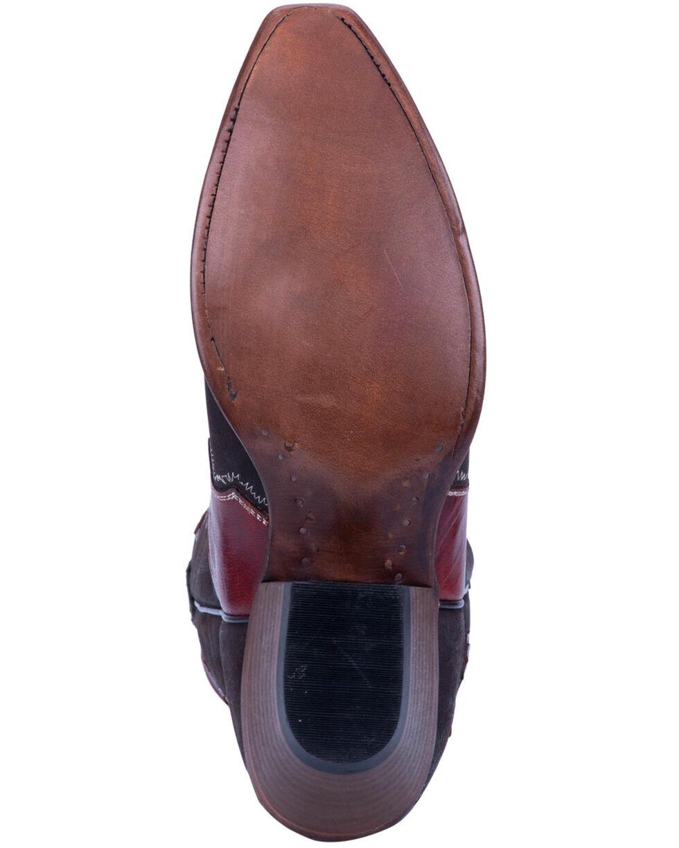 Dan Post Women's O-Lay Lucie Western Boots - Snip Toe, Brown, hi-res
