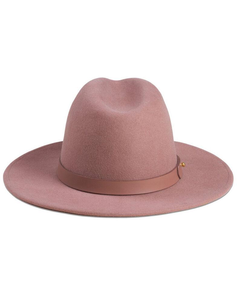 Lack Of Color Women's Dusty Mauve The Fleur Wool Hat , Mauve, hi-res