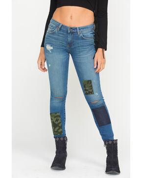 MM Vintage Women's Tamia Skinny Jeans, Indigo, hi-res