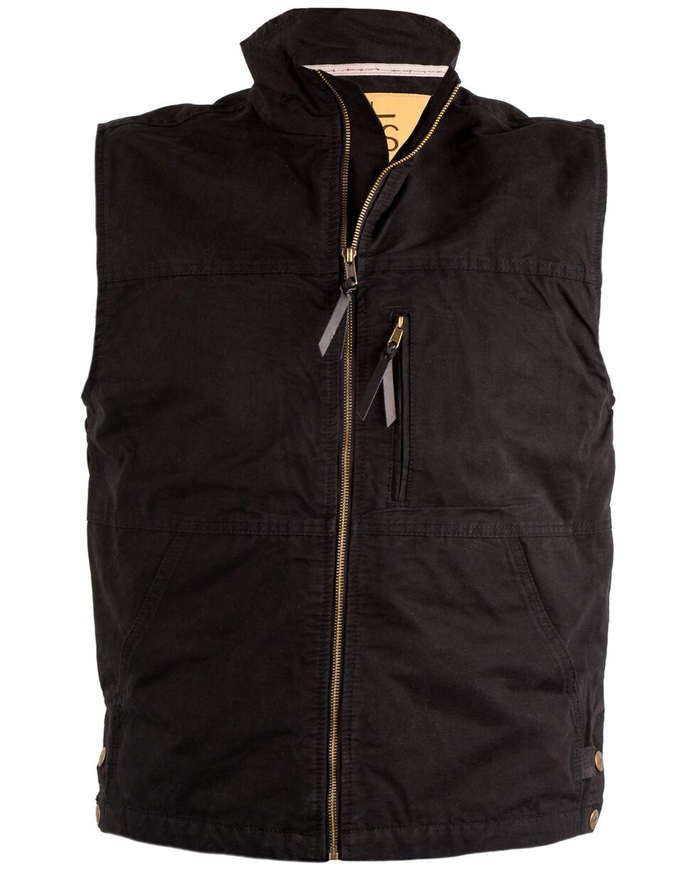 STS Ranchwear Men's Black Sundance Vest , Black, hi-res