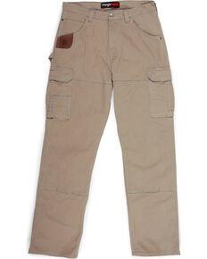Wrangler Men's Khaki Riggs Workwear Advanced Comfort Ranger Pants , Beige/khaki, hi-res