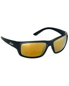 Hobie Men's Snook Satin Black Polarized Sunglasses , Black, hi-res