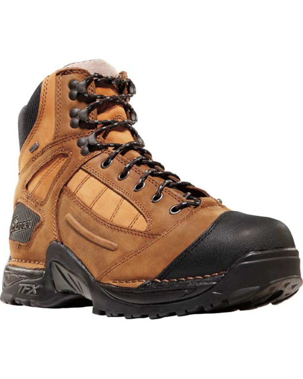 """Danner Men's Brown Instigator GTX 6"""" Boots - Round Toe , Brown, hi-res"""