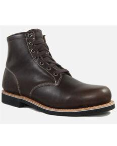 Superlamb Men's Gobi Desert Retro Lacer Boots - Round Toe, Charcoal, hi-res