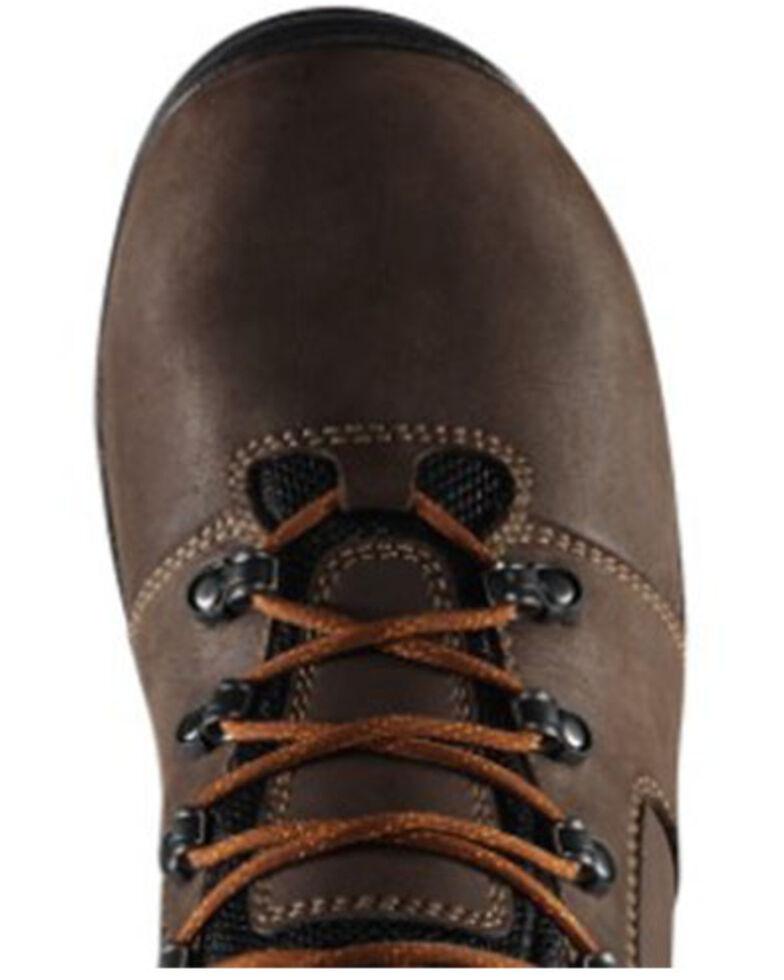 Danner Men's Vicious Waterproof Work Boots - Composite Toe, Brown, hi-res