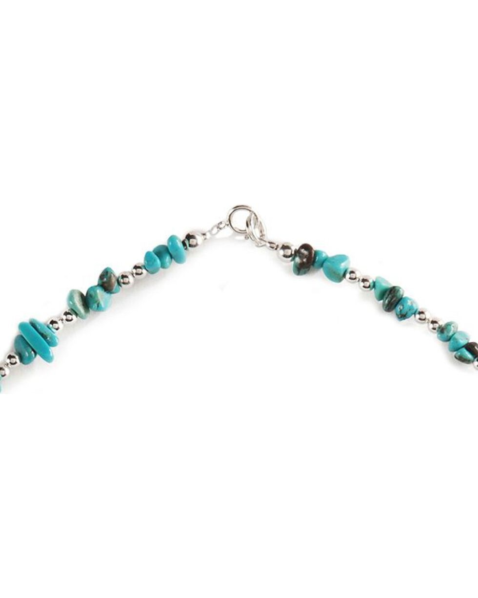 Turquoise Nugget Necklace, Turquoise, hi-res