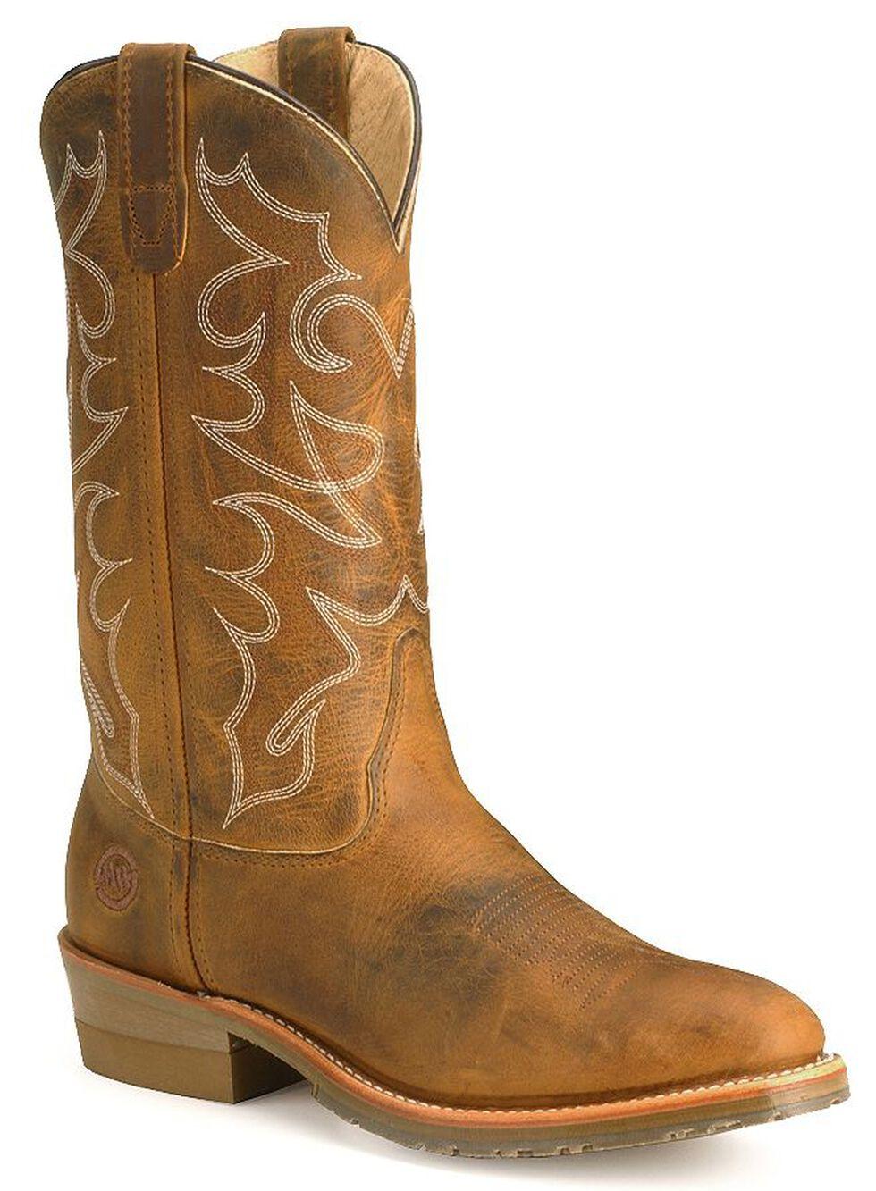 Double H Men's Gel Ice Work Boots - Steel Toe, Brown, hi-res