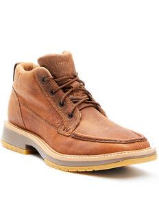 Wrangler Men's TWX Lace-Up Boots - Moc Toe, Brown, hi-res