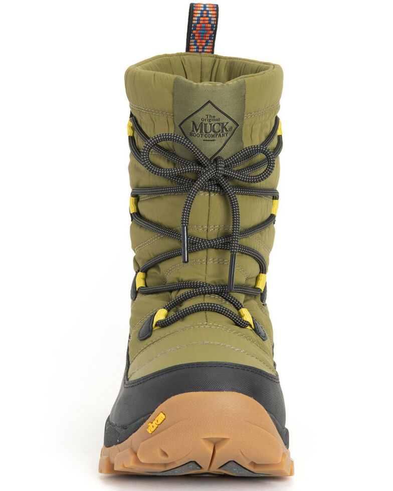 Muck Boots Women's Nomadic Arctic Hiking Boots - Soft Toe, Moss Green, hi-res