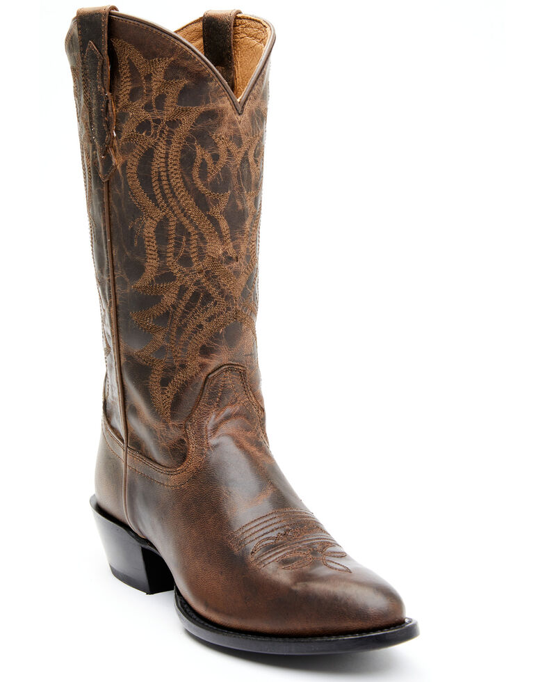 Shyanne Women's Indio Western Boots - Round Toe, Brown, hi-res