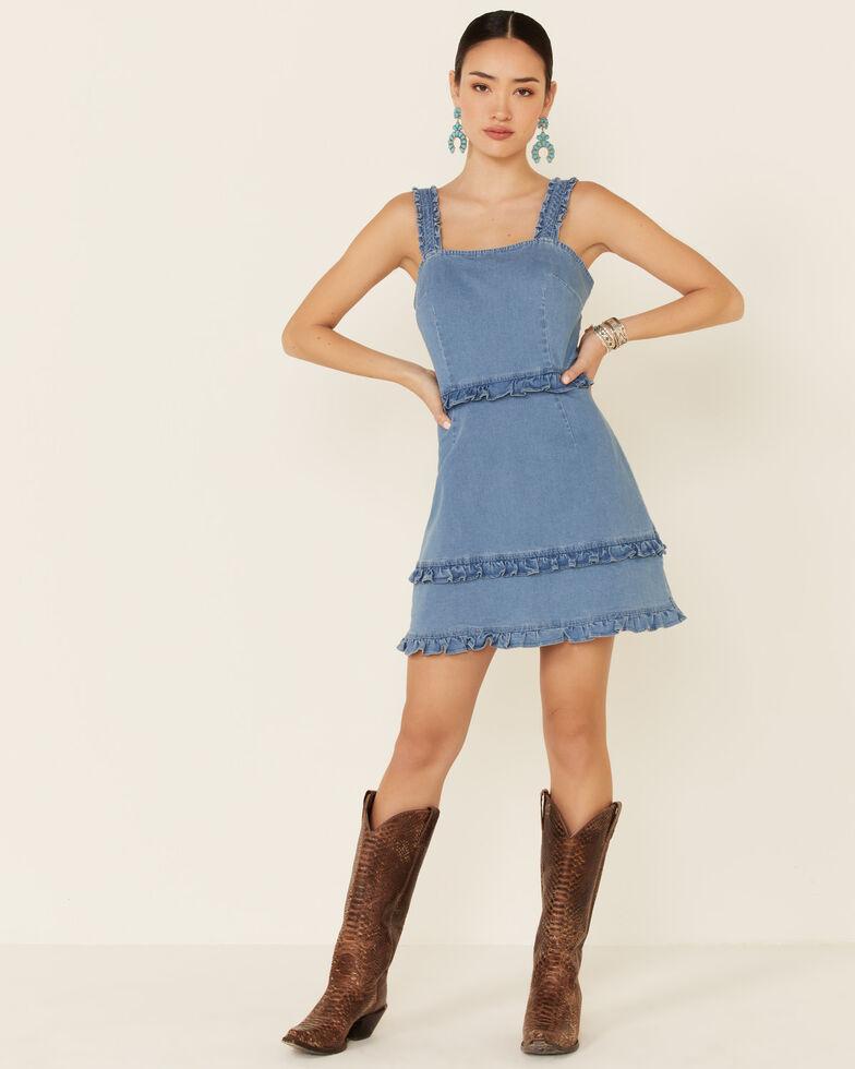 Sadie & Sage Women's Go Get It Dress, Light Blue, hi-res