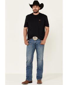 Rock & Roll Denim Men's Vintage 46 Pistol Stretch Regular Straight Leg Jeans , Blue, hi-res