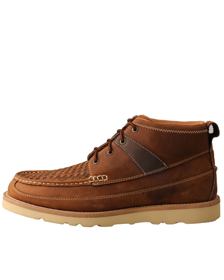 Twisted X Men's Casual Lace Up Boots, Brown, hi-res