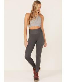 Wrangler Women's Grey Cargo Leggings, Grey, hi-res