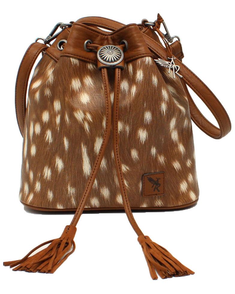 Angel Ranch Women's Bucket Bag, Brown, hi-res