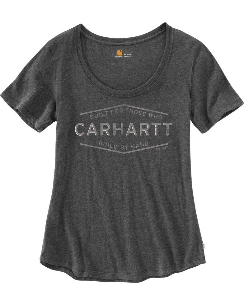 Carhartt Women's Lockhart Built By Hand Graphic Tee, , hi-res