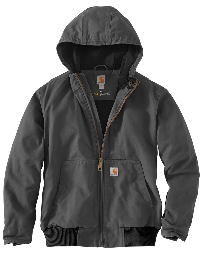 Carhartt Men's Full Swing Armstrong Active Jacket - Big & Tall , Charcoal, hi-res