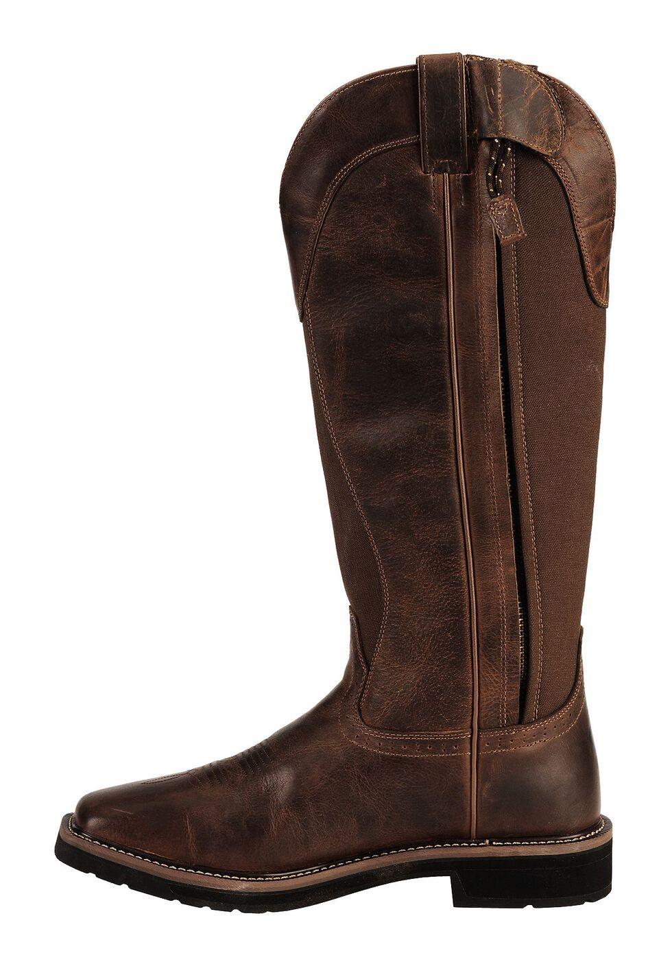 "Justin Men's 17"" Fielder Brown Snake Proof Boots - Soft Toe, Tan, hi-res"