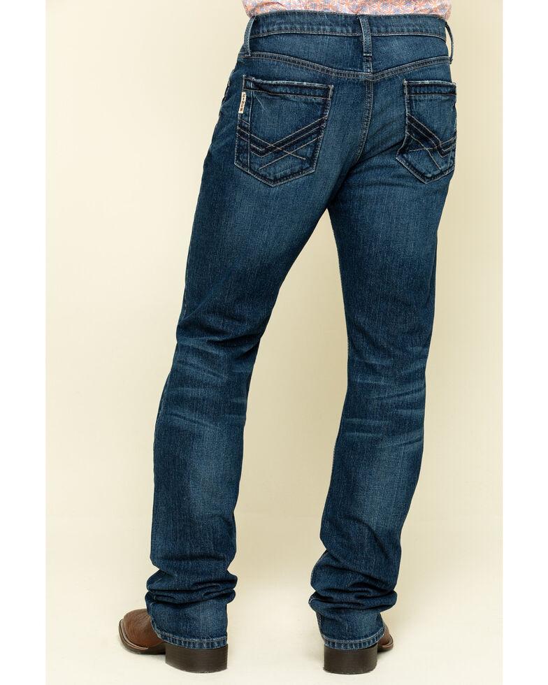 Cinch Men's Ian Performance Stretch Slim Boot Jeans , Indigo, hi-res